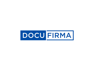 DocuFirma logo design by alby