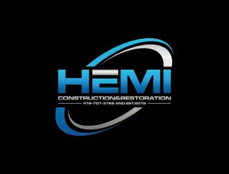 Hemi construction&restoration logo design by rian38