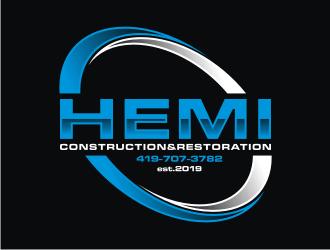 Hemi construction&restoration logo design by ora_creative
