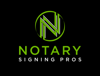 Notary Pros AZ or Notary Signing Pros  logo design by dodihanz