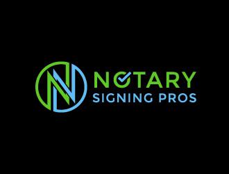 Notary Pros AZ or Notary Signing Pros  logo design by CreativeKiller