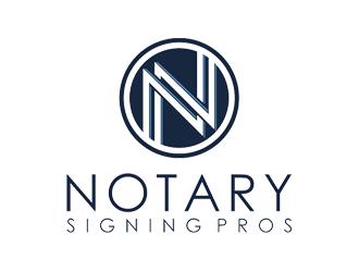 Notary Pros AZ or Notary Signing Pros  logo design by jancok