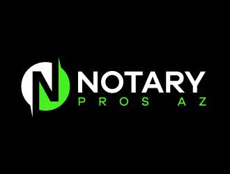 Notary Pros AZ or Notary Signing Pros  logo design by karjen