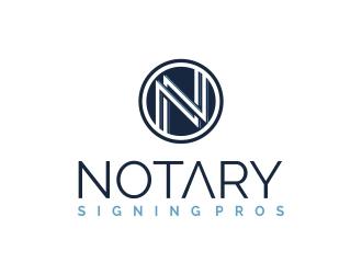Notary Pros AZ or Notary Signing Pros  logo design by lj.creative