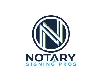 Notary Pros AZ or Notary Signing Pros  logo design by jaize