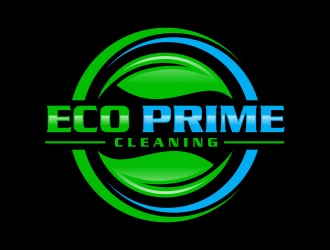 Eco Prime Cleaning Logo Design