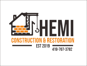 Hemi construction&restoration logo design by niichan12