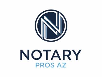 Notary Pros AZ or Notary Signing Pros  logo design by EkoBooM