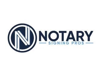Notary Pros AZ or Notary Signing Pros  logo design by Erasedink