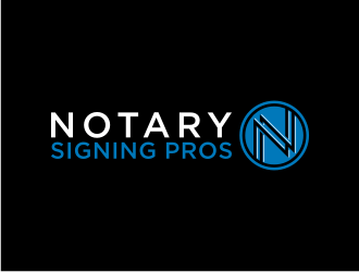 Notary Pros AZ or Notary Signing Pros  logo design by ndndn