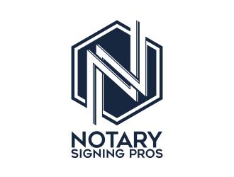 Notary Pros AZ or Notary Signing Pros  logo design by ekitessar