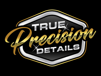 True Precision Details  Logo Design