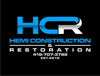 Hemi construction&restoration logo design by Raden79