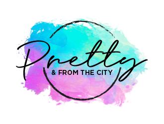 Pretty & From The City logo design