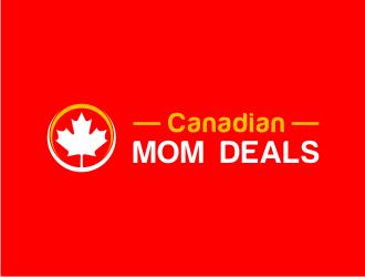Canadian MOM Deals Logo Design