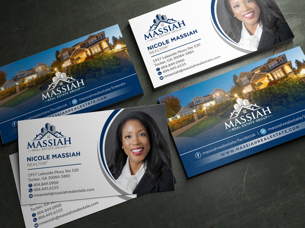 Massiah Real Estate Group logo design by Realistis