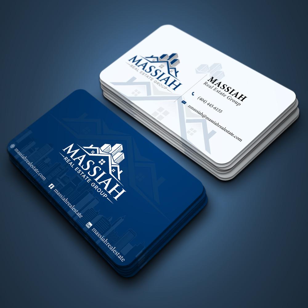 Massiah Real Estate Group logo design by ansh