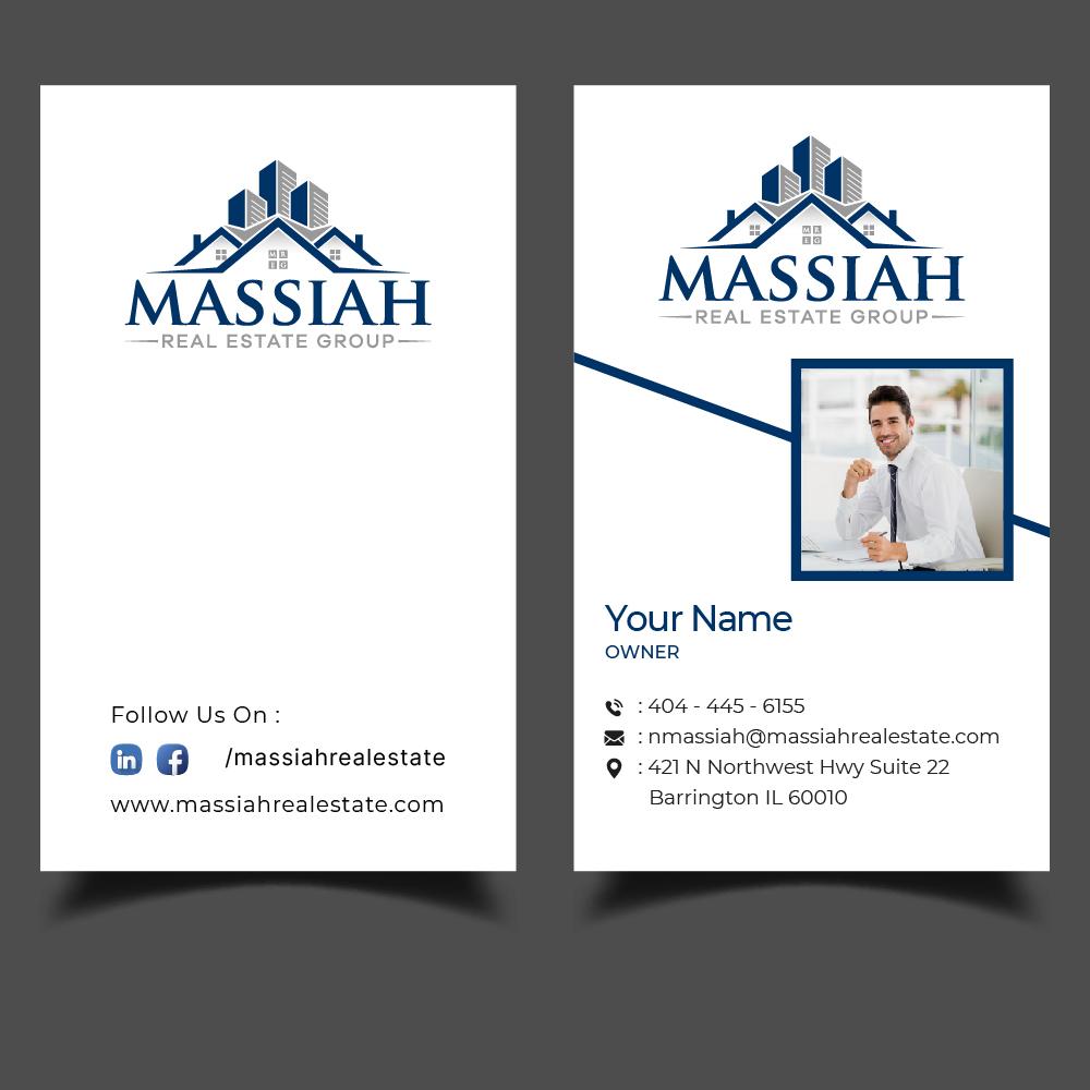 Massiah Real Estate Group logo design by GRB Studio
