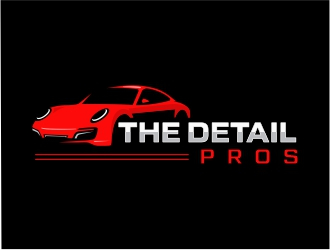 The Detail Pros logo design by Mardhi