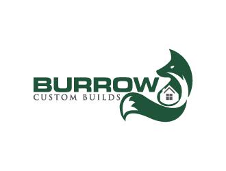 Burrow Custom Builds logo design by yondi