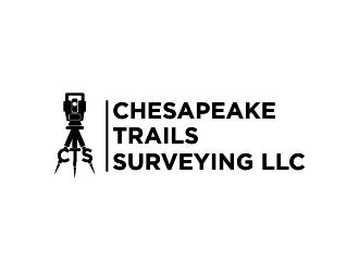 Chesapeake Trails Surveying LLC logo design by indomie_goreng