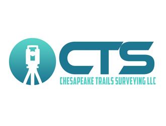 Chesapeake Trails Surveying LLC logo design by kunejo