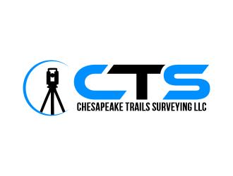 Chesapeake Trails Surveying LLC logo design by Gwerth