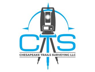 Chesapeake Trails Surveying LLC logo design by rgb1