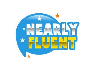 Nearly Fluent  logo design
