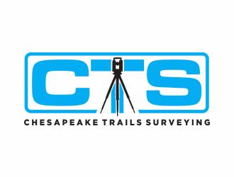 Chesapeake Trails Surveying LLC logo design by Mahrein
