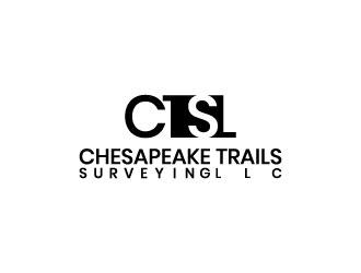 Chesapeake Trails Surveying LLC logo design by Saraswati