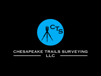 Chesapeake Trails Surveying LLC logo design by diki