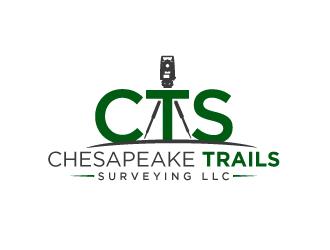 Chesapeake Trails Surveying LLC logo design by aRBy
