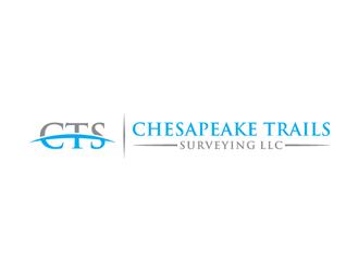 Chesapeake Trails Surveying LLC logo design by alby