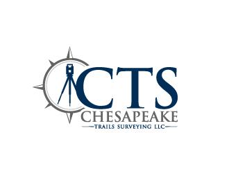 Chesapeake Trails Surveying LLC logo design by bluespix