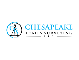 Chesapeake Trails Surveying LLC logo design by oke2angconcept