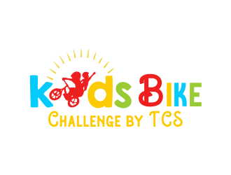 Kids Bike Challenge by TCS                (by TCS small and superscript) logo design by bismillah