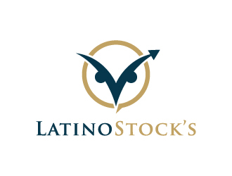 LatinoStock's  logo design by akilis13