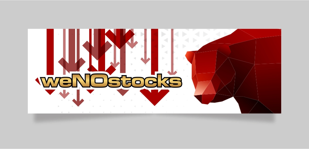 weNOstocks logo design by Ibrahim