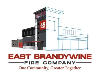 East Brandywine Fire Company  logo design