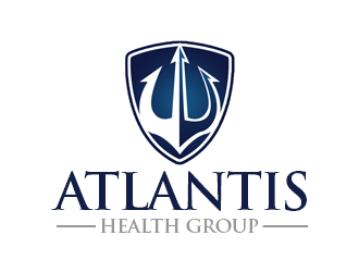 Atlantis Health Group logo design