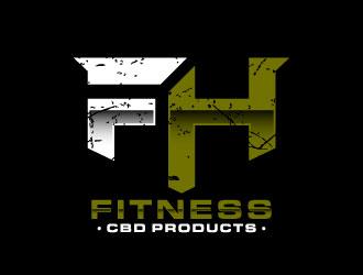 FH Fitness logo design