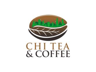 CHI TEA AND COFEE logo design by Republik