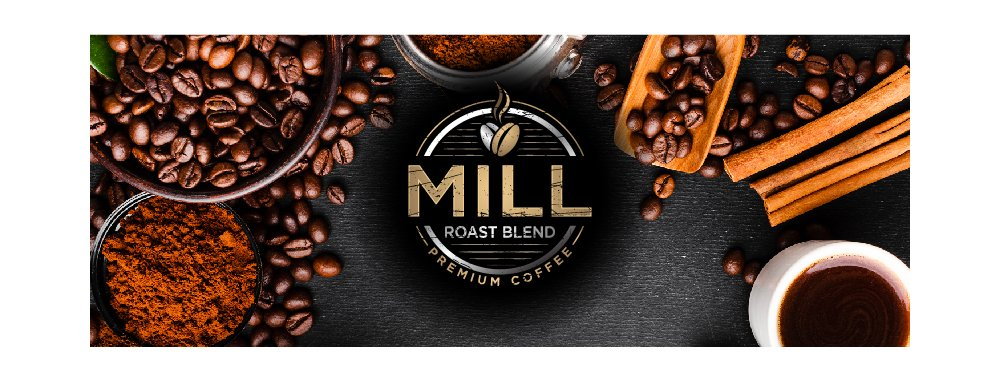 Mill Roast Blend logo design by Sofi