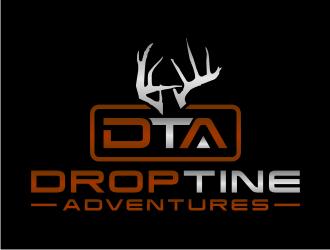 DropTine Adventures Logo Design