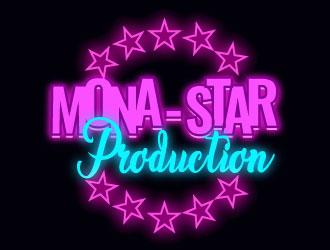 Mona-star Production Logo Design