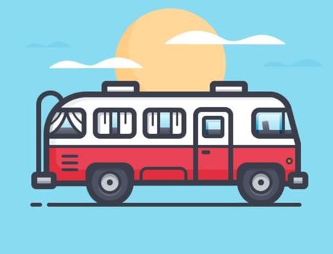 26 transportation and bus logo design inspirations 48hourslogo blog