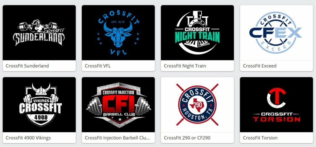 crossfit logo design