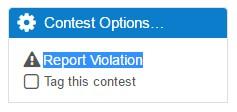 report violation