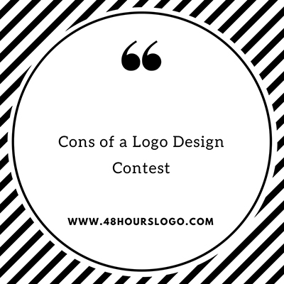 Cons of a logo design contest
